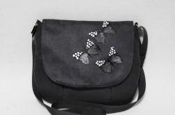 Torebka listonoszka malowane motye