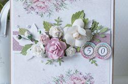 """Kartka urodzinowa """"50"""" v.2"""