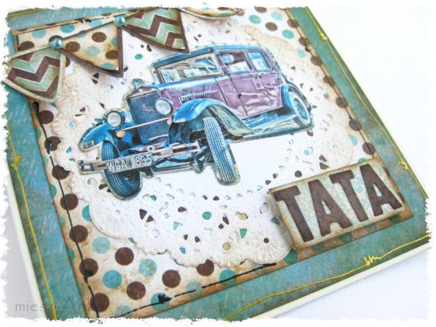Wyjątkowa KARTKA dla TATY - 3 - TATA, ojciec, tatuś, taty