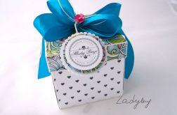 Pudełko na ślub Witraż Morski