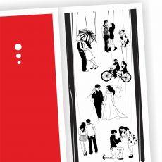 wspólne życie - karteczka ślubna