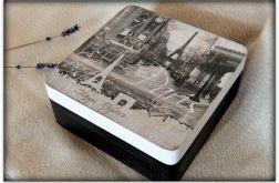 ~Od Ani~ Pudełko Szkatułka ~Wieża Eiffla~ Paryż Francja