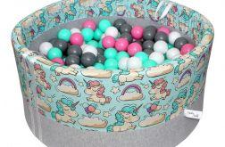 BabyBall-suchy basen z piłeczkami dla dzieci
