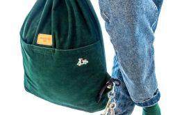 Plecak worek - Butelkowa Czwóreczka