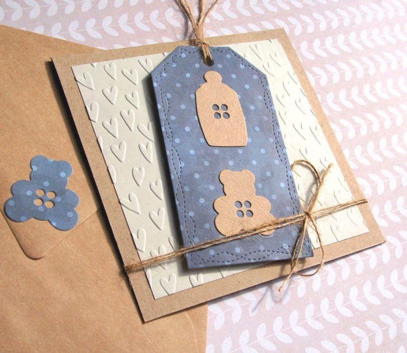 dla chłopczyka :: KARTKA HANDMADE narodziny