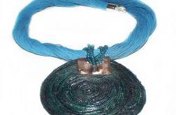 turkusowy naszyjnik