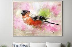 Plakat różowy ptak 50X70 CM