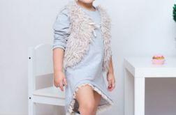 Sukienka asymetryczna dla dziewczynki
