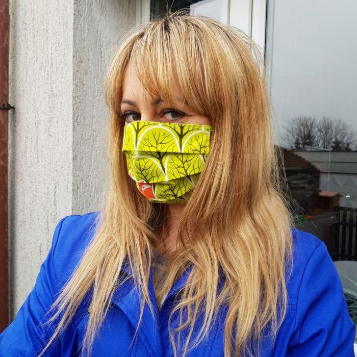 Maseczka ochronna kosmetyczna maska do twarzy