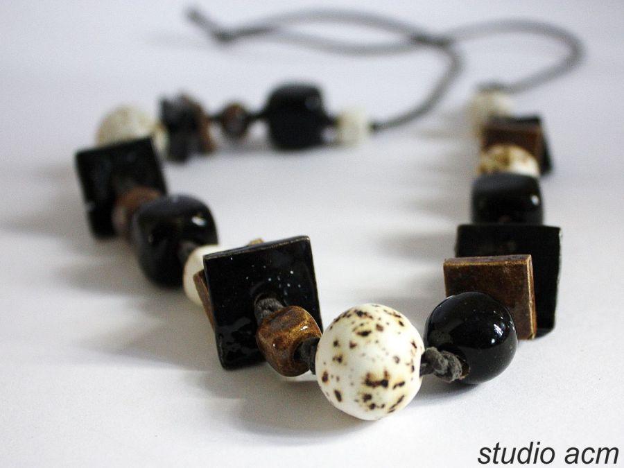 czer i biel no 1 ceramiczne korale studio acm. Black Bedroom Furniture Sets. Home Design Ideas