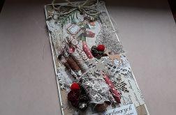 Kartka świąteczna, rustykalna