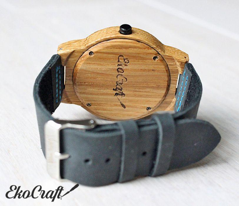 Drewniany zegarek WALNUT EAGLE OWL - walnut eagle owl 3