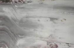 Obraz abstrakcja szarość 40x50