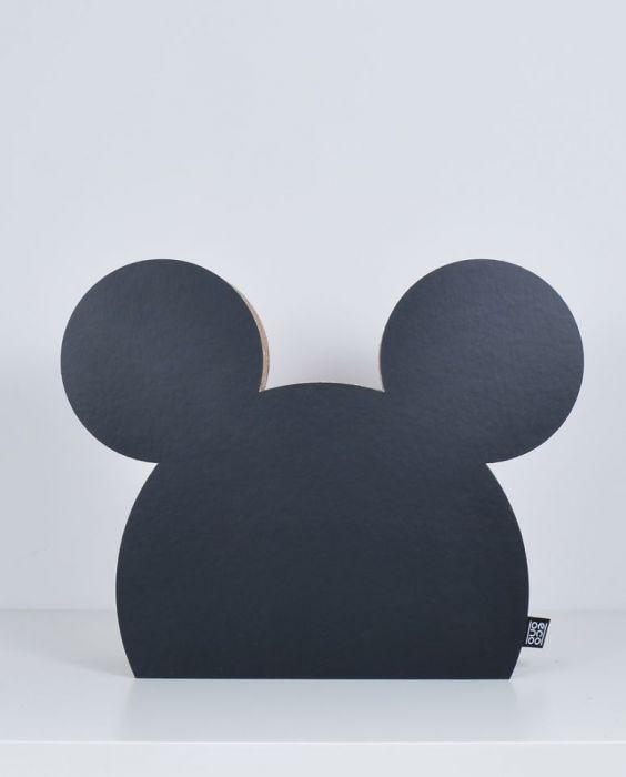 MYSZKA dekoracja ecoono | czarny