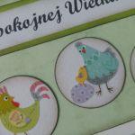 Kartka wielkanocna z kurkami (4)