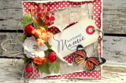 Kartka z sercem dla mamy