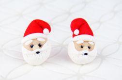 Kolczyki Święty Mikołaj