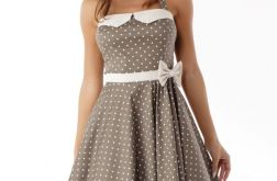 Sukienka rozkloszowana PIN UP ED01-2