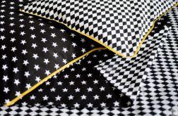 Pościel 160x200 Black Stars