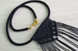 Naszyjnik makramowy tribal