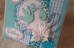 kartka chłopca gratulacje narodziny