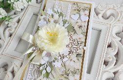 Ślubna kartka w pudełku 374