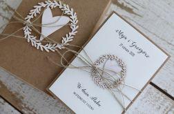kartka ślubna z personalizacją i pudełkiem5a