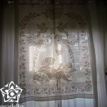 Firanka Anioł w oknie