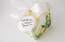 Pudełko na ślub Lemoniada