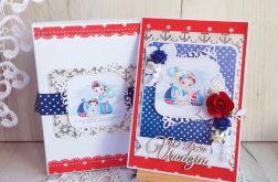 Kartka urodzinowa Marine dla chłopca GOTOWA