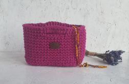 Różowa torebka