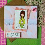 Kartka My heart is yours Moje serce - Twoje