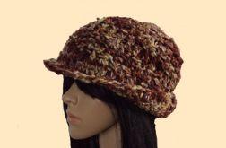 """kapelusz i komin """"w kolorach jesieni"""""""