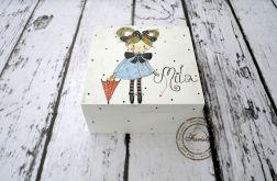 pudełko średnie dziewczynka