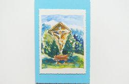 Kartka z kapliczką