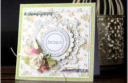 Kartka z kwiatami urodziny #12