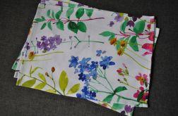 4 podkładki pod talerze - kolorowa łąka