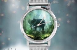 Zegarek, bransoletka - Słoń
