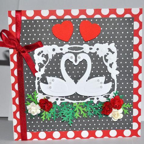 Kartka - Dwa serca