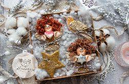 Świąteczny podarek. Zawieszki bożonarodzeniowe /03