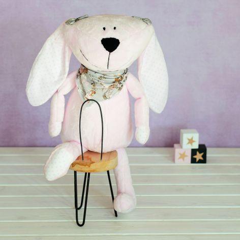maskotka przytulanka zabawka króliczek Pinky
