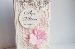 kartka ślubna motyle koperta pieniądze