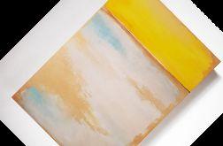 Abstrakcja ze złotem -70/100 cm
