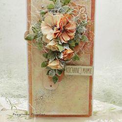 Kochanej Mamie- kartka w pudełku 6