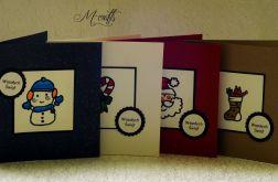 Kolorowe życzenia...Komplet 4 kartek
