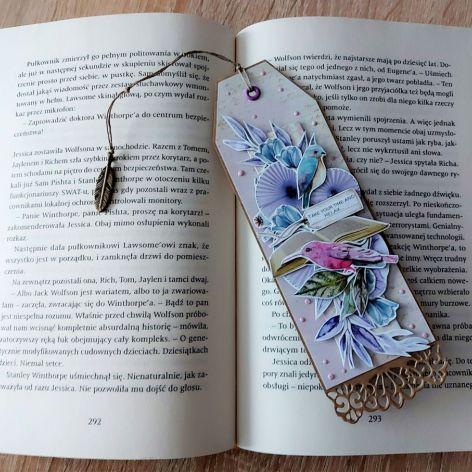 Papierowa zakładka do książki
