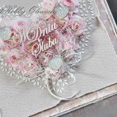 Ślubne serce różane