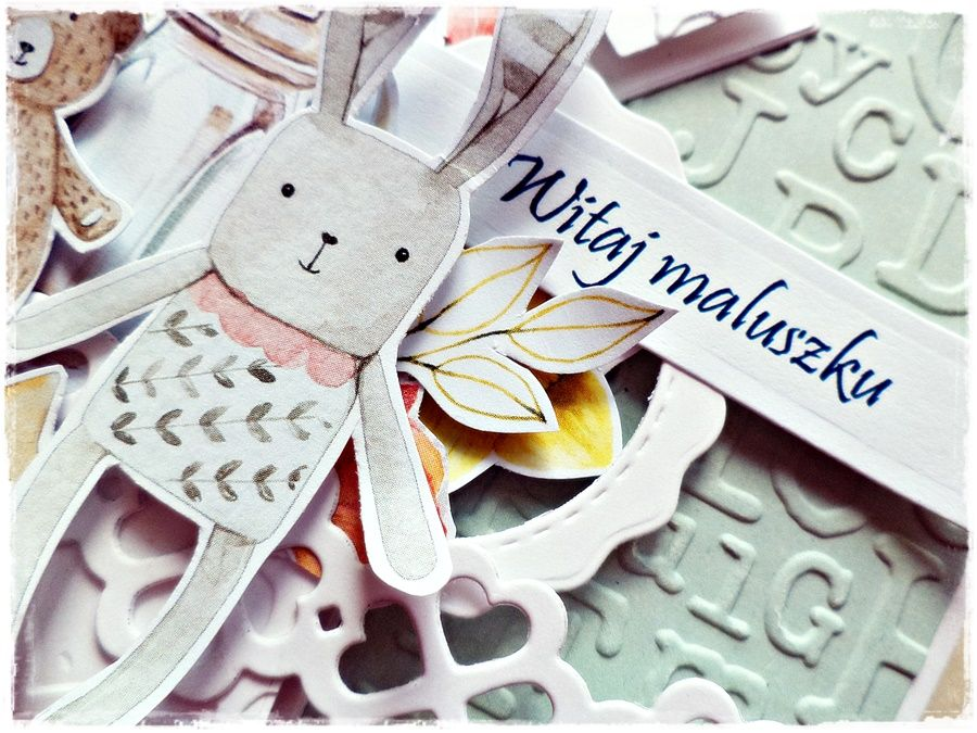 Witaj Maluszku - kartka dziecięca