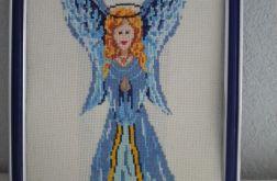 Niebieski anioł -Obraz