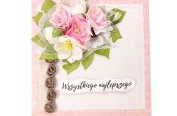 Kartka na ślub lub urodziny/imieniny - #693